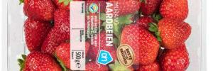 AH stapt over op topseal-verpakking voor zachtfruit. 33% plastic besparing