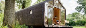 Wikkelhouse: een kartonnen huis in 1 dag gebouwd