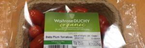 Britse supermarkt Waitrose maakt verpakkingen van tomatenplanten